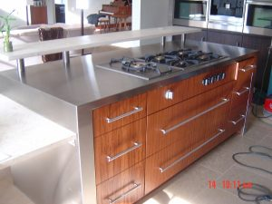 Airoom Stainless Steel Countertops Chicago IL