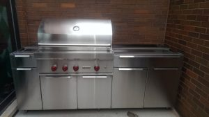 Goldberg Gen. stainless steel grill cabinets Chicago IL