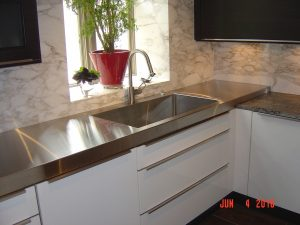Kelly Stainless Steel Countertops Chicago IL