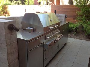 Norcon stainless steel grill cabinets Chicago IL