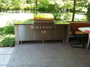 Ricketts stainless steel grill cabinets Chicago IL