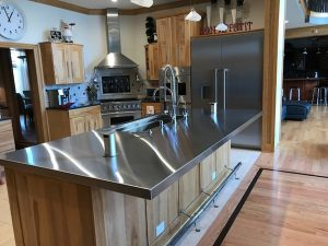 Stainless Steel Countertops Chicago IL