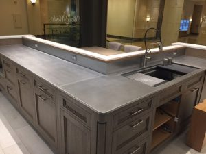 Woodmode Stainless Steel Countertops Chicago IL