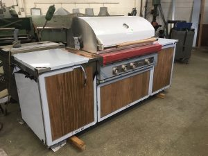 stainless steel grill cabinets Chicago IL 2
