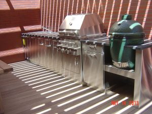 stainless steel grill cabinets Chicago IL